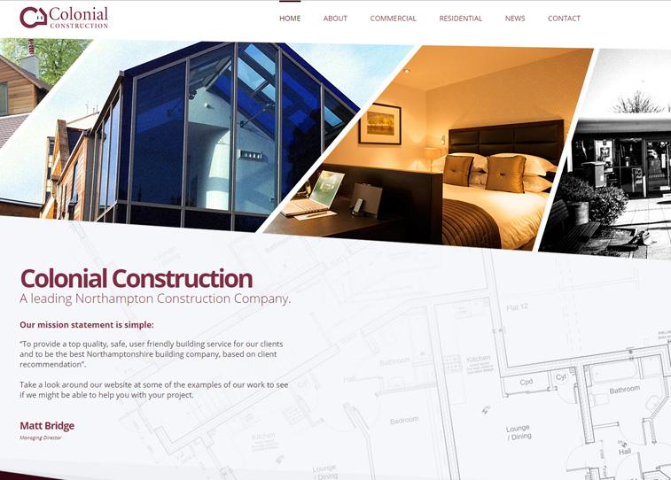 Colonial Development Service : Professional web design development graphic and